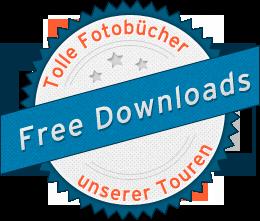 Kostenlose Downloads zu unseren Touren. Fotobücher, Pressetexte, Tourbeschreibungen, Roadbooks usw.