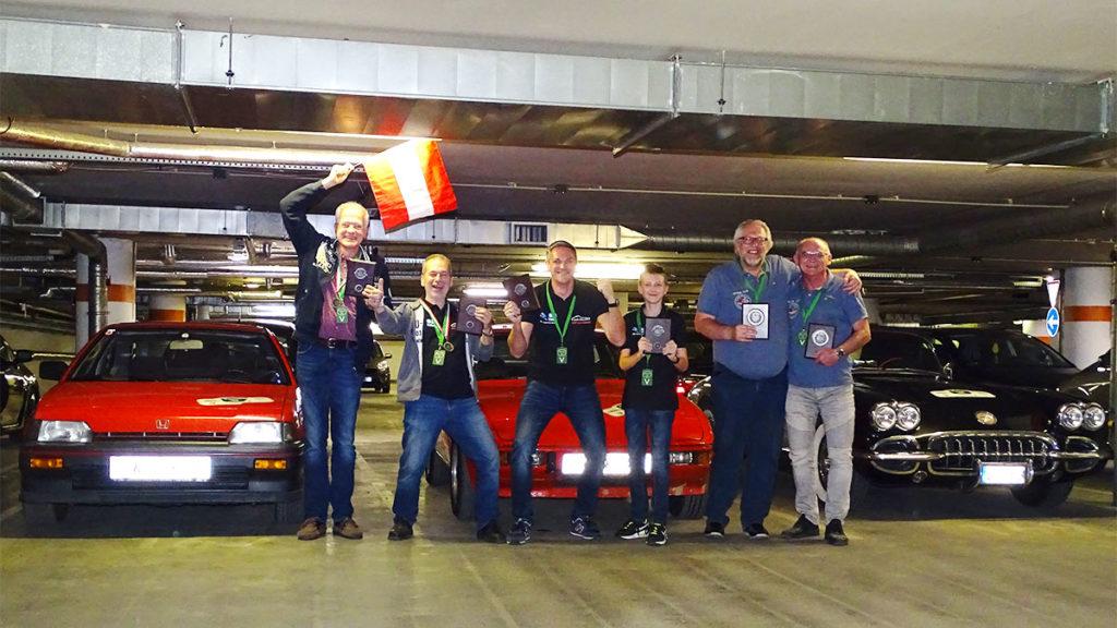 V.l.n.r.: Gerhard Soukal, Fritz Jirowsky, Jürgen Lovranich, Tobi Lovranich, Gerhard Riedl, Michael Stumpf