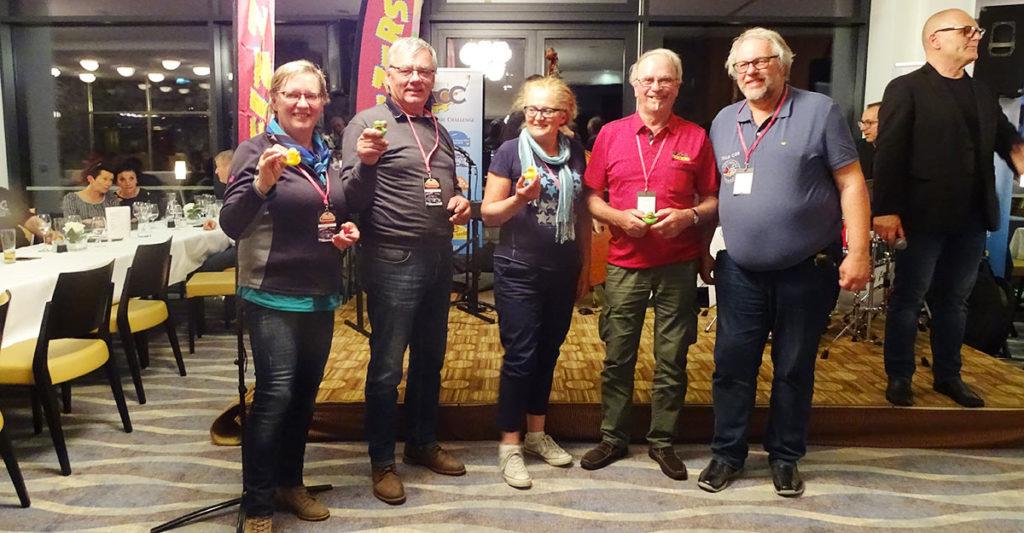 v.l.n.r.: Elisabeth und Gerold Raunig, Luise und Peter Metz, Gerhard Riedl