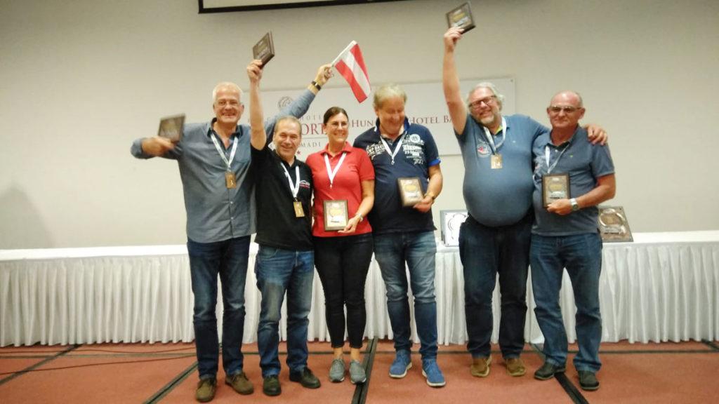 Sieg in der Teamwertung für Team Austria