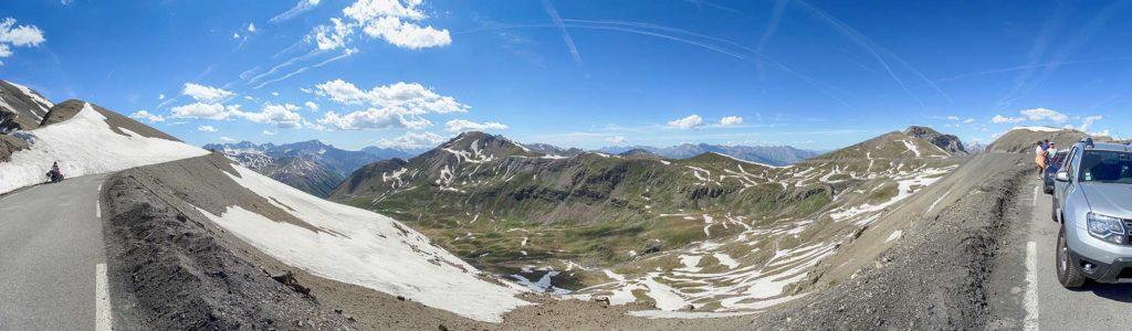 Col de la Bonette - Blick nach Norden